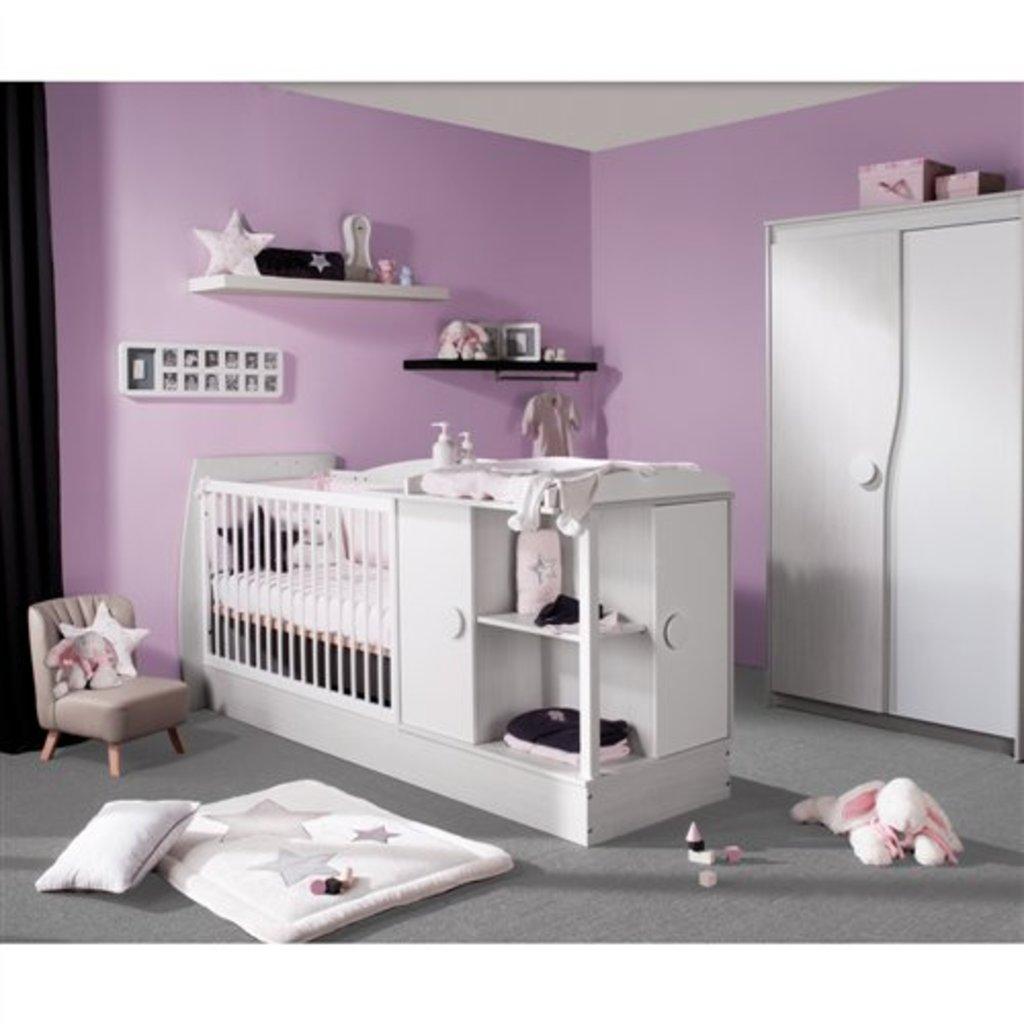 Liste de naissance de baby girl sur mes envies - Lit bebe combine table a langer ...