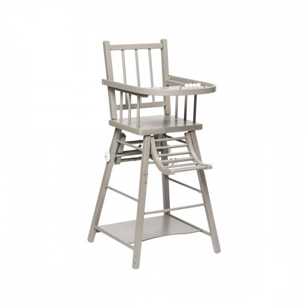 Chaise Haute Bois Combelle : chaise haute combelle grise chaise haute combelle en bois peinte