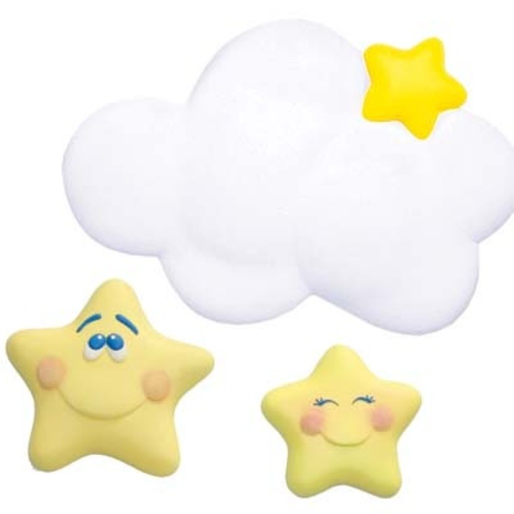 Mira and jeffs baby registry my desires cloud and star wall decor 2 of 2 amipublicfo Gallery