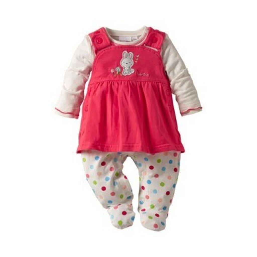 BORNINO La robe-grenouillère avec T-shirt bébé ensemble bébé à prendre en  taille 3 mois ♥ 76b2dc1da63