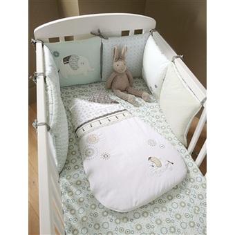Vertbaudet tour de lit bb parure lit bb fresh housse chez for Chambre bb modulable