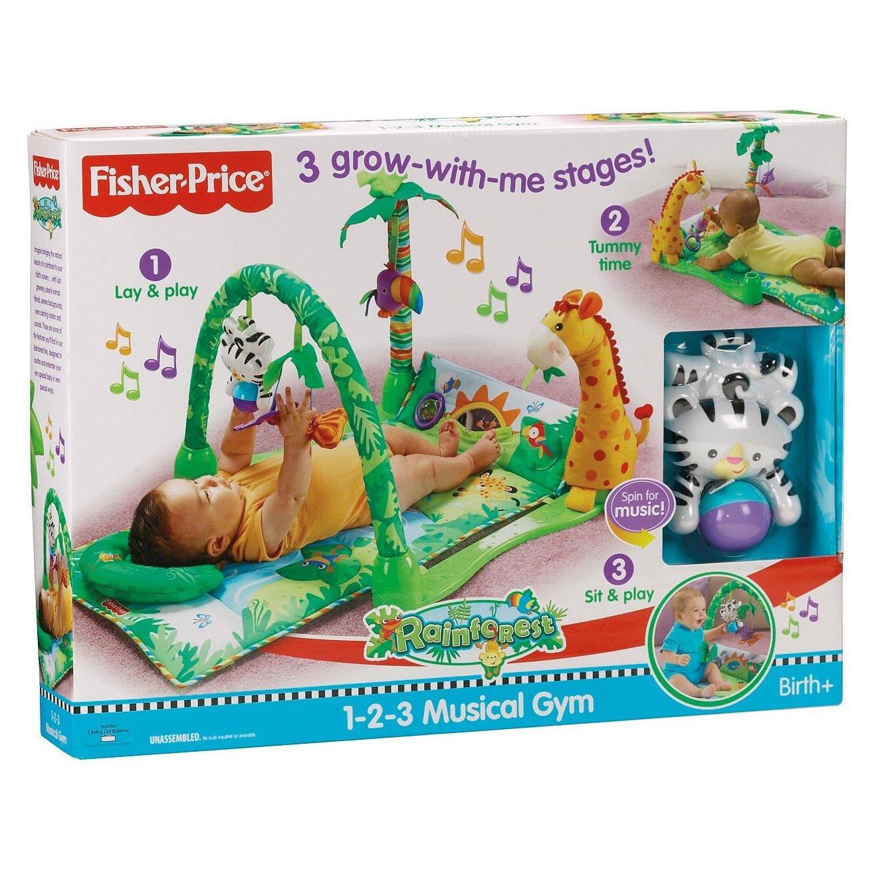 Tapis de la jungle fisher price - Fisher price tapis eveil jungle ...